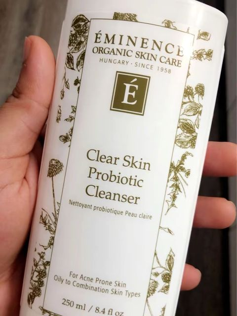 Eminence clear skin cleanser