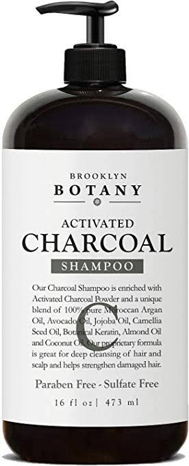 ACTIVATED CHARCOAL SHAMPOO 16 OZ