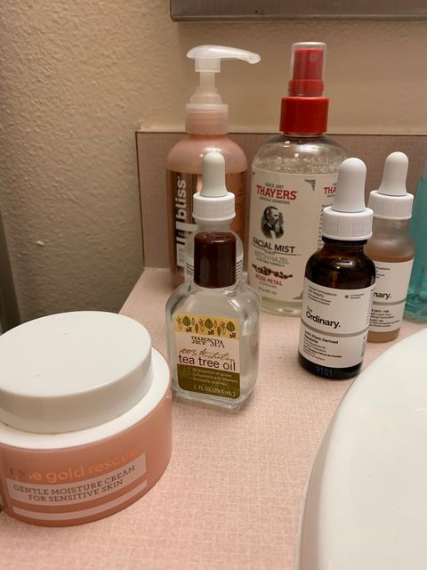 Nightly routine (excluding masks)