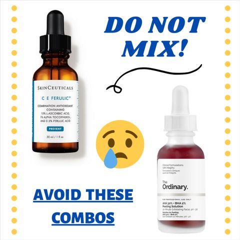 6 Skincare Ingredient Combinations To Avoid