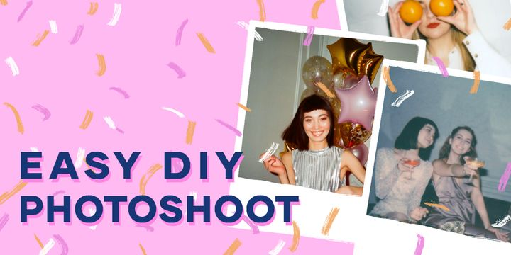 5 Innovative Ways to do an At-Home Photoshoot