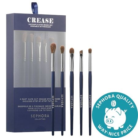 Crease: Uncomplicated Brush Set