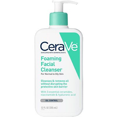Foaming Facial Cleanser For Normal To Oily Skin