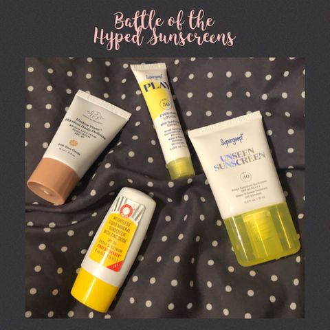 Battle of the Hyped Sunscreens