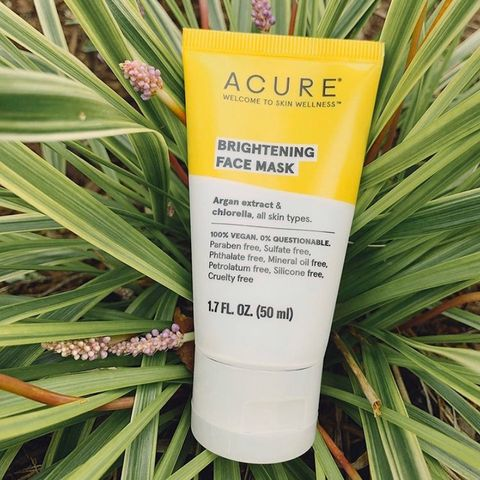 Acure brightening face mask!
