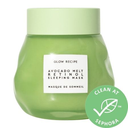 Avocado Melt Retinol Sleeping Face Mask