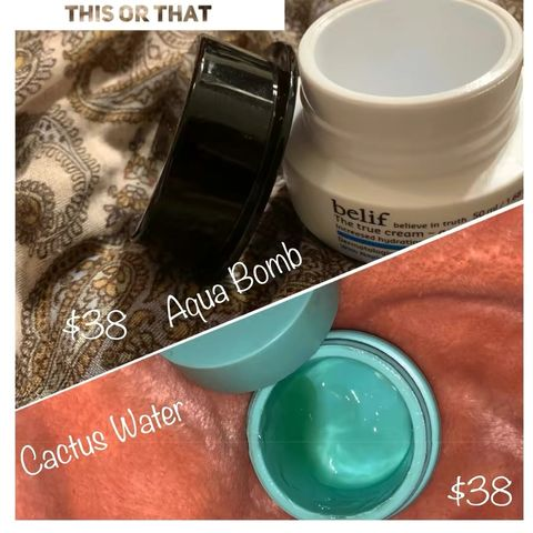 Battle of the water creams