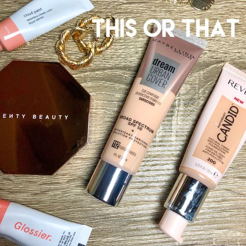 This or that: drugstore foundation