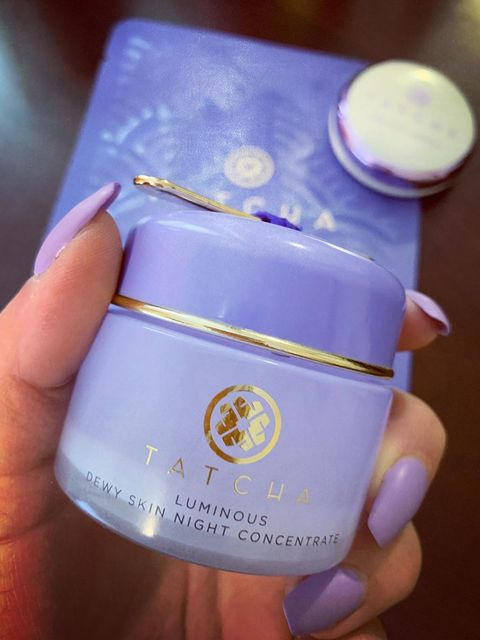 My current night cream tatcha