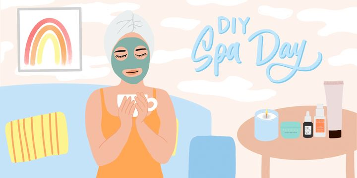 4 No-Buy Ways To Create An At-Home Spa Day