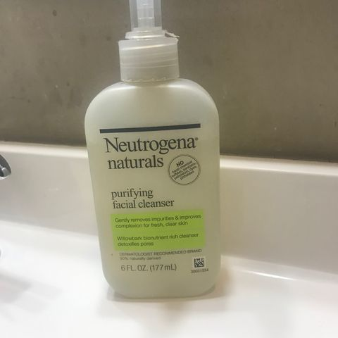 My every day face wash