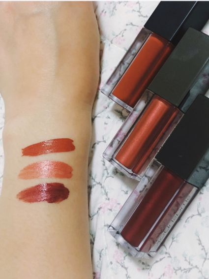 Swatch my new smashbox lipstics! 💋💄