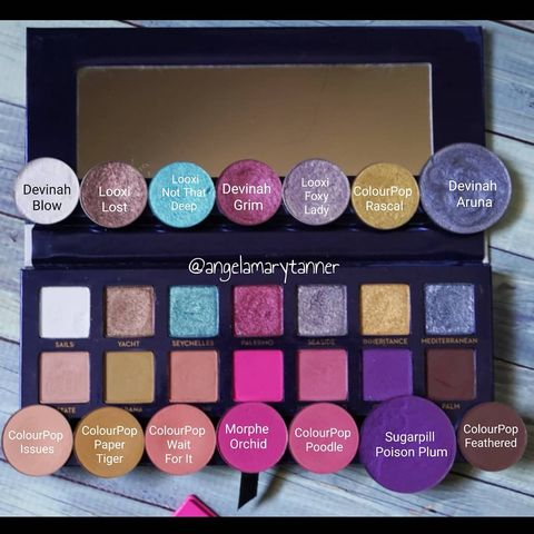 ABH Riviera Palette Dupes!  I