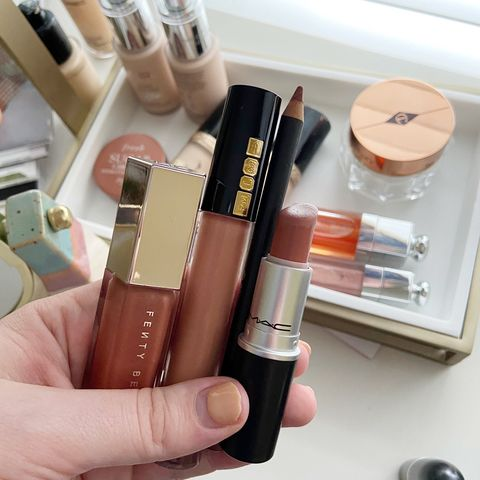 lip products always with me