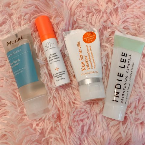 Products for acne prone skin!