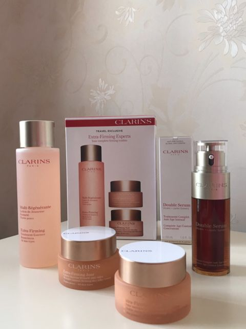I want to talk about Clarins...