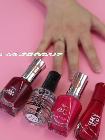 NAIL POLISH DRY IN 60 SECONDS?