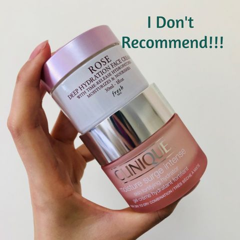 Face Creams I DO NOT Recommend for Combo Skin