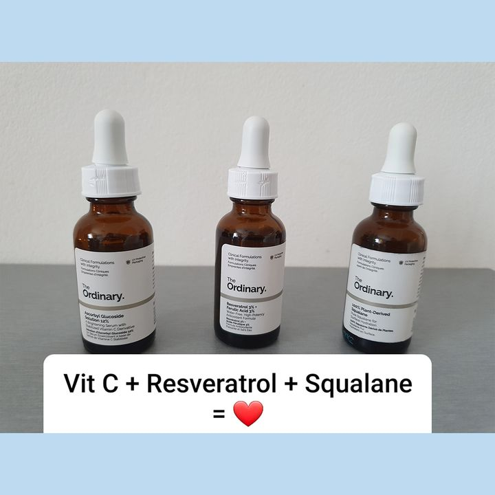 Vitamin C Resveratrol Squalane Hydration And Cherie