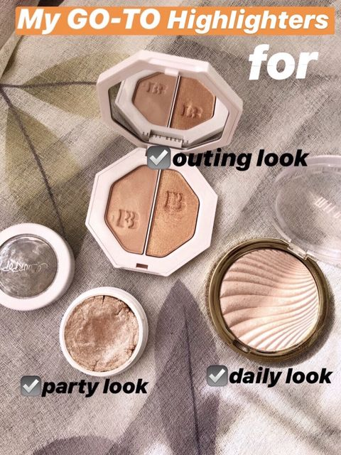 My GO-TO Highlighters for…