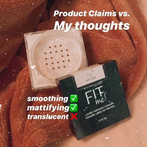 CLAIMS VS THOUGHTS | Maybelline Fit Me