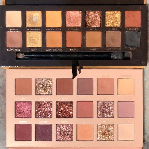 💖 Comparing two bestseller pink palettes
