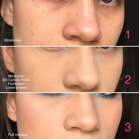 Primer for a flawless skin