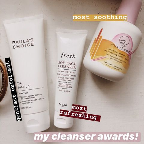 best in: cleansers
