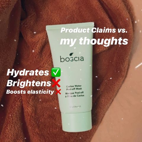CLAIMS VS THOUGHTS | Boscia Cactus Water