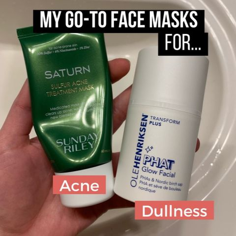 My go-to face masks 💆🏻♀️