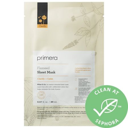 Flaxseed Sheet Mask Clarifying