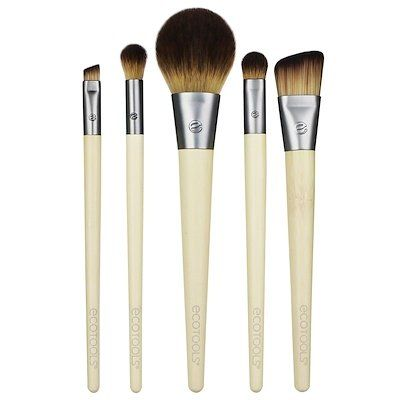 Start The Day Beautifully Brush Set, 5 Piece Set & Storage Tray