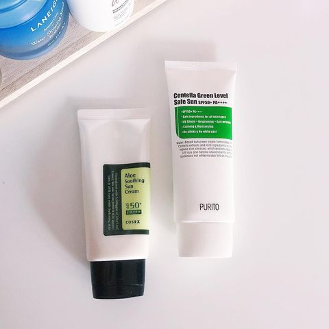 Comparing the cosrx Aloe Sooth
