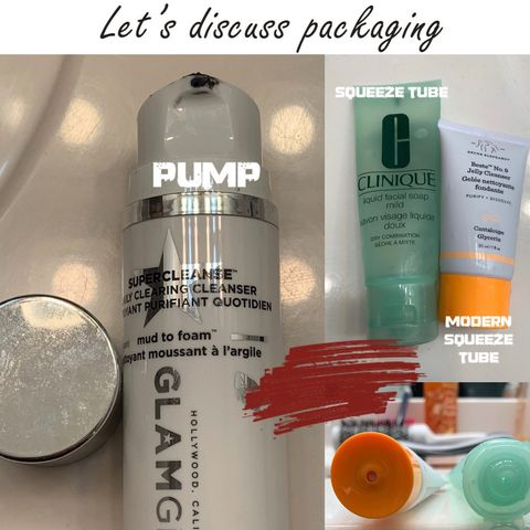 DISCUSSION: Evolution of cleanser packaging