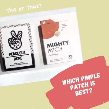 Hydrocolloid patches, which one?